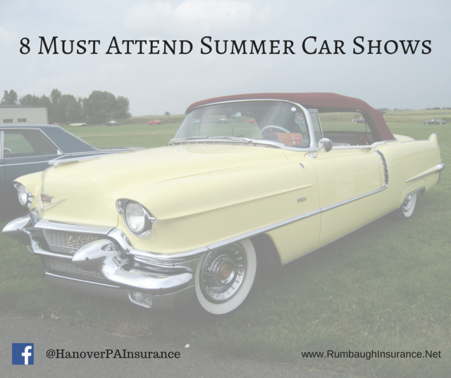 Hanover PA Summer Car Shows Rumbaughinsurancenet - Classic car show york