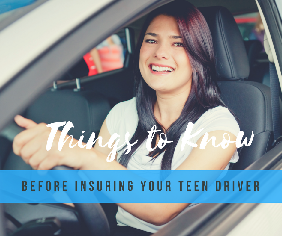 insuring your teen driver
