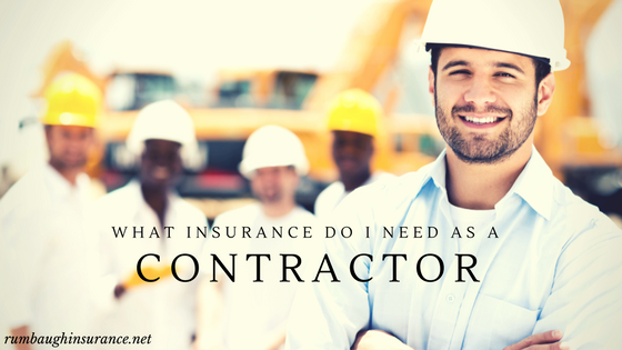 insurance needed as a contractor