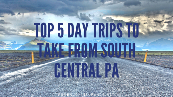 top 5 day trips pa
