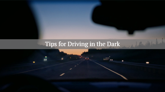 driving in the dark tips