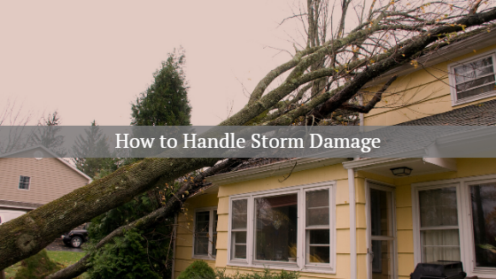 How To Handle Storm Damage Hanover Pa Insurance