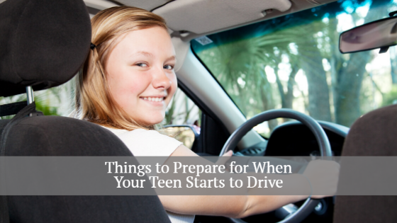 prepare for when your teen starts to drive
